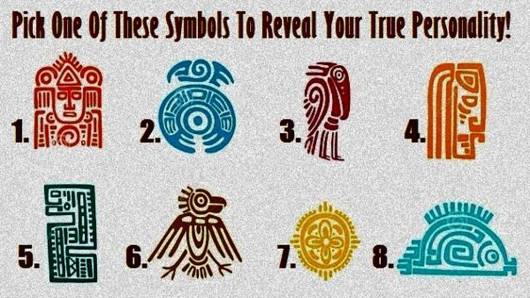 Scegli un simbolo e scopri la tua personalità