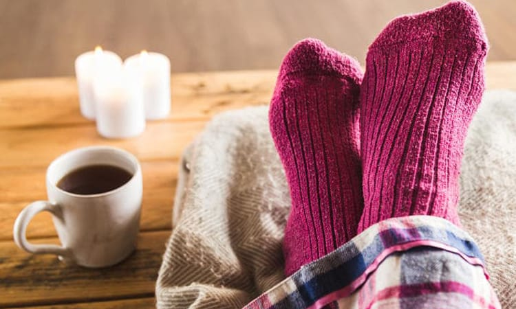I piedi freddi sono un sintomo di molte malattie