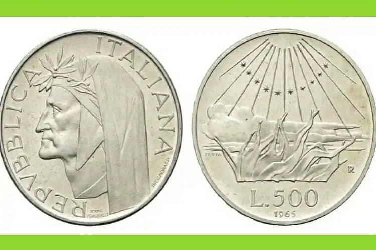 500 Lire di Dante Alighieri: scopri qual è il loro valore economico corrente